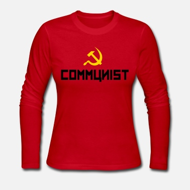Communist Communist - Women's Long Sleeve Jersey T-Shirt
