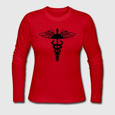 Caduceus - Women's Long Sleeve Jersey T-Shirt