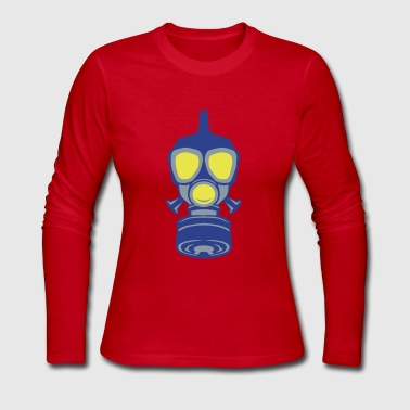 gas mask 22 - Women's Long Sleeve Jersey T-Shirt
