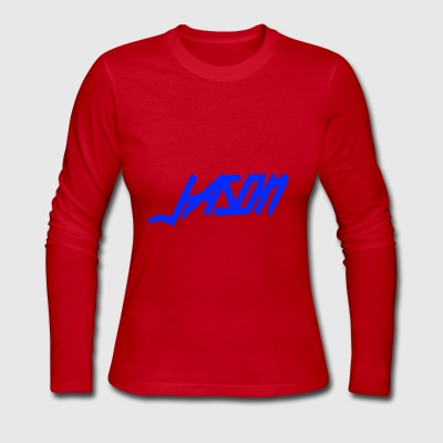 Jason New Logo - Women's Long Sleeve Jersey T-Shirt
