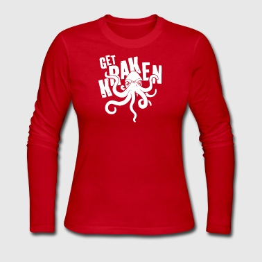 Get Kraken - Women's Long Sleeve Jersey T-Shirt