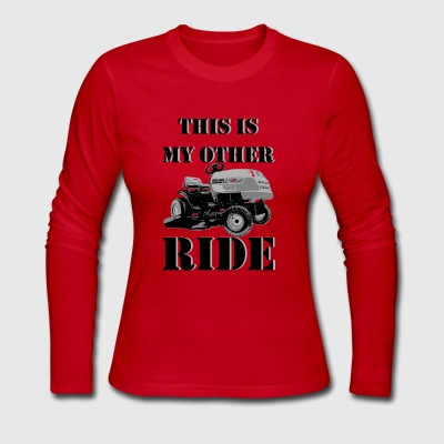 This Is My Other Ride - Women's Long Sleeve Jersey T-Shirt