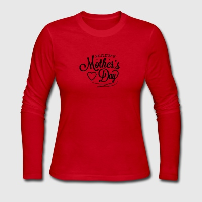 happy_mother-s_day - Women's Long Sleeve Jersey T-Shirt