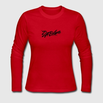 #Dablyfe Natural Healing - Women's Long Sleeve Jersey T-Shirt