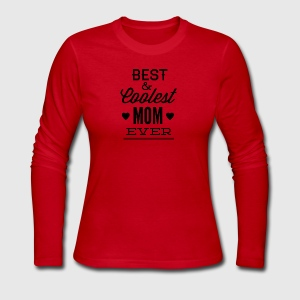 best_and_coolest_mom_ever-01 - Women's Long Sleeve Jersey T-Shirt