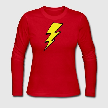 lightning - Women's Long Sleeve Jersey T-Shirt