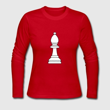 Bishop, chess pieces bishop - Women's Long Sleeve Jersey T-Shirt