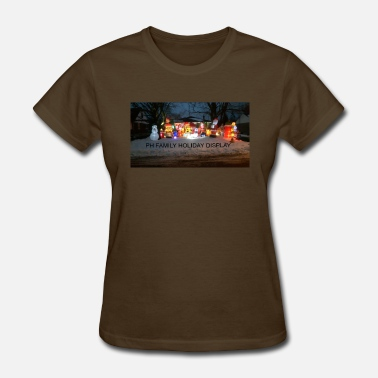 Northumberland PH FAMILY HOLIDAY DISPLAY - Women's T-Shirt