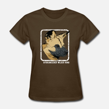 Wild Dog Dogs - African Wild Dog - Women's T-Shirt