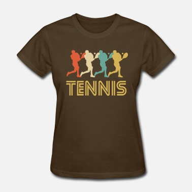 Tennis Art Retro Tennis Pop Art - Women's T-Shirt