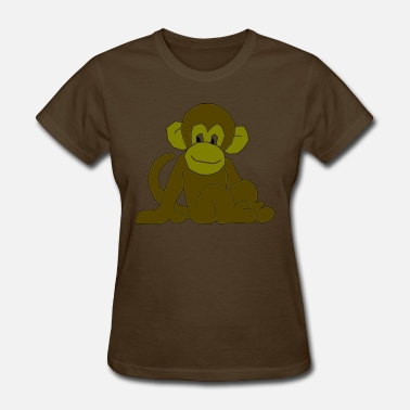 Monkey Cool Cool Monkey - Women's T-Shirt