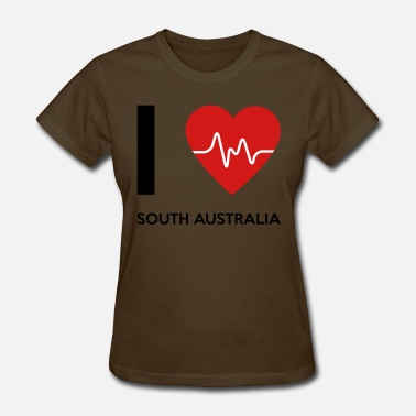 I Travel Australia I Love South Australia - Women's T-Shirt