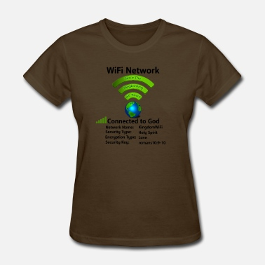 Connected Wifi Wifi Connection - Women's T-Shirt