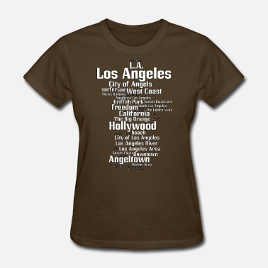 Downtown Los Angeles Los Angeles (L.A. Angeltown) - Women's T-Shirt