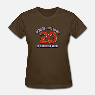 20th Birthday Designs 20th birthday design - Women's T-Shirt