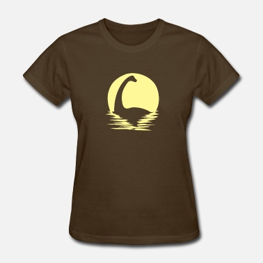 Born By The Sea Dino and sea - Women's T-Shirt