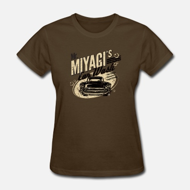 Okinawa Japan Mr. Miyagi's Car Wash - Women's T-Shirt