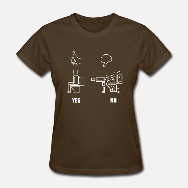 Sitting In The Toilet toilet - Women's T-Shirt