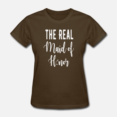 Bachelorette Bachelor Nerd Bachelorette The real Maid of Hono bachelore - Women's T-Shirt