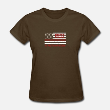 Red Line Firefighter Thin Red Line - Women's T-Shirt