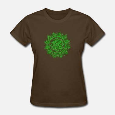 Green Dragon Green Mandala - Women's T-Shirt