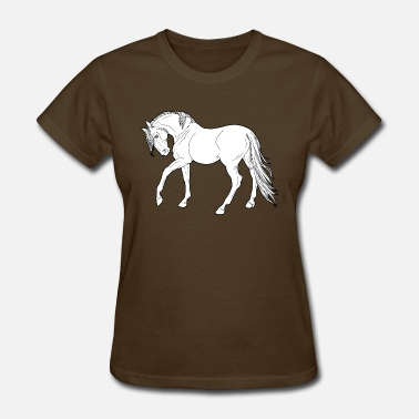 Horse Animal Horses Horse animal - Women's T-Shirt