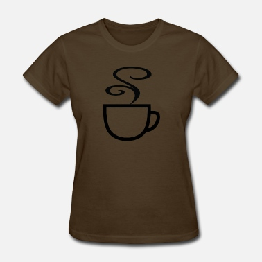 Cocoa Tea Hot Cup - Women's T-Shirt