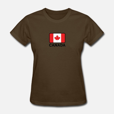 East Vancouver National Flag Of Canada - Women's T-Shirt