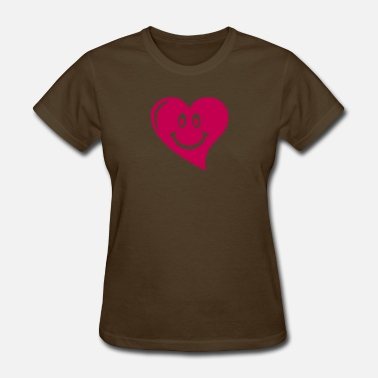 Smiling Heart Smiling Heart - Women's T-Shirt