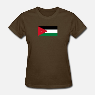 Amman National Flag Of Jordan - Women's T-Shirt