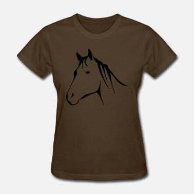 4391d8bf Horse Horse - Women's T-Shirt. Women's ...