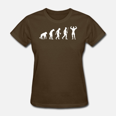 Bench Body Building Body Building Evolution - Women's T-Shirt