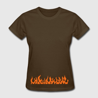 flames 2 - Women's T-Shirt
