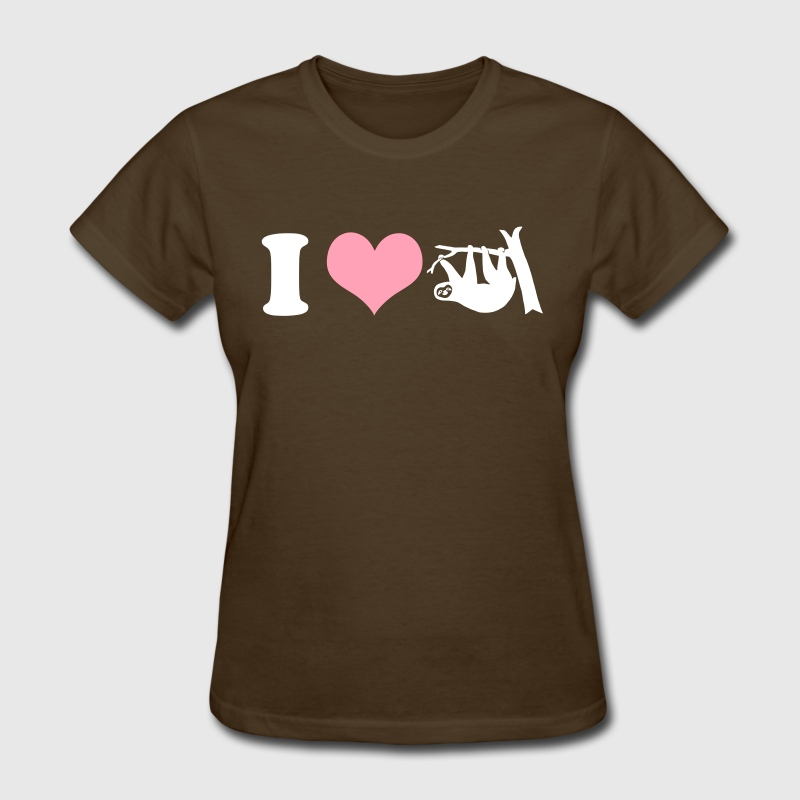 i love sloths - Women's T-Shirt