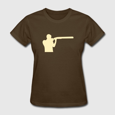 Trap shooting - Women's T-Shirt