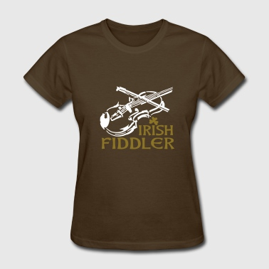 La Música Irish Fiddle - Women's T-Shirt