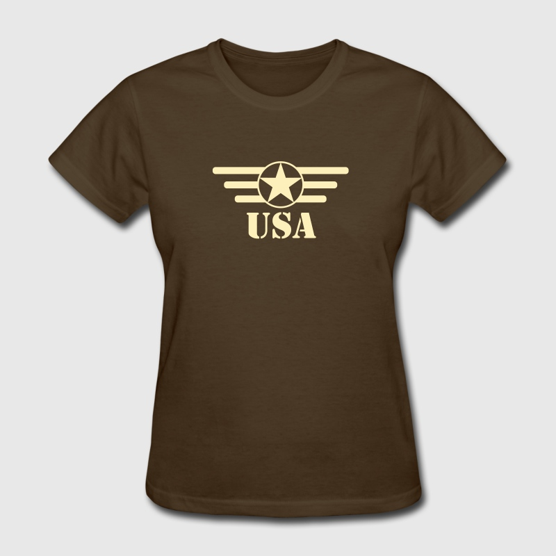 USA Army star and bars - Women's T-Shirt