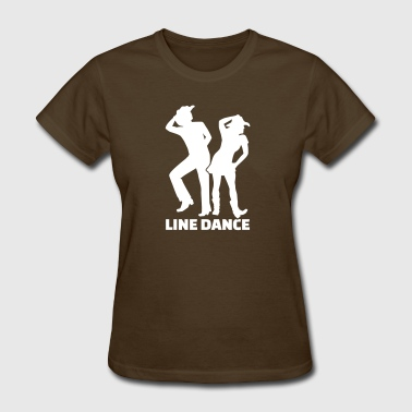 Line dance - Women's T-Shirt
