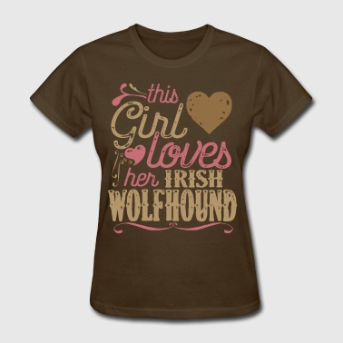 Irish Wolfhound Dog Shirt Gift Dogs - Women's T-Shirt