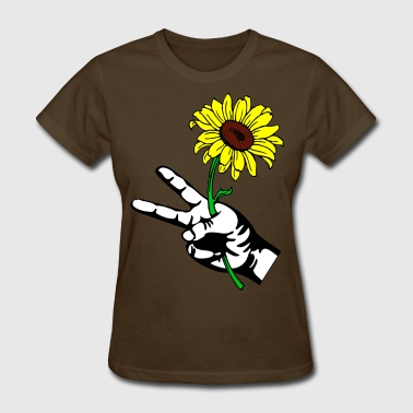 PEACE FLOWER - Women's T-Shirt