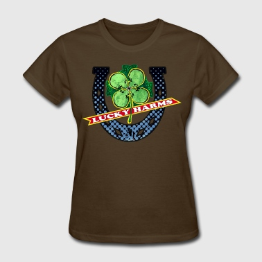 Cock Shamrock Lucky Harms - Women's T-Shirt