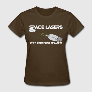 space lasers - Women's T-Shirt