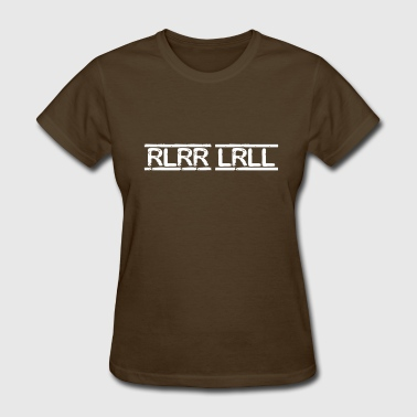 RLRR LRLL Paradiddle - Women's T-Shirt