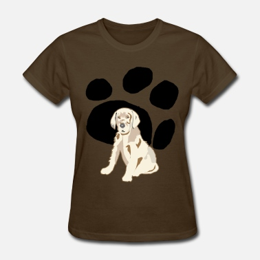 Grown Up Geeting Grown Up Paws - Women's T-Shirt