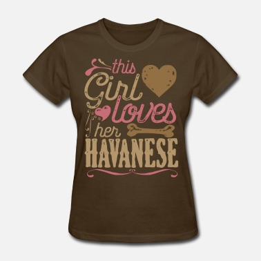 Havanese Dogs Havanese Dog Shirt Gift Dogs - Women's T-Shirt