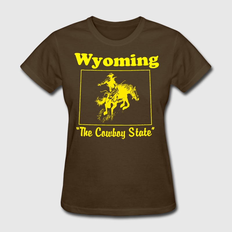 wyoming the cowboy state - Women's T-Shirt