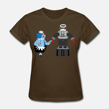 The Jetsons Rosie and Lost in Space Robot - Women's T-Shirt