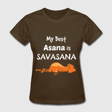 Yoga Cat - my best asana - Women's T-Shirt