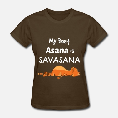 Asana Yoga Cat - my best asana - Women's T-Shirt