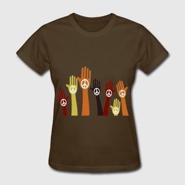 Support The Peace - Women's T-Shirt